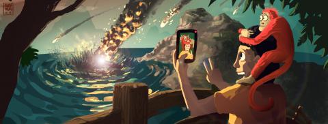 Il Selfie e il residuo della meditazione