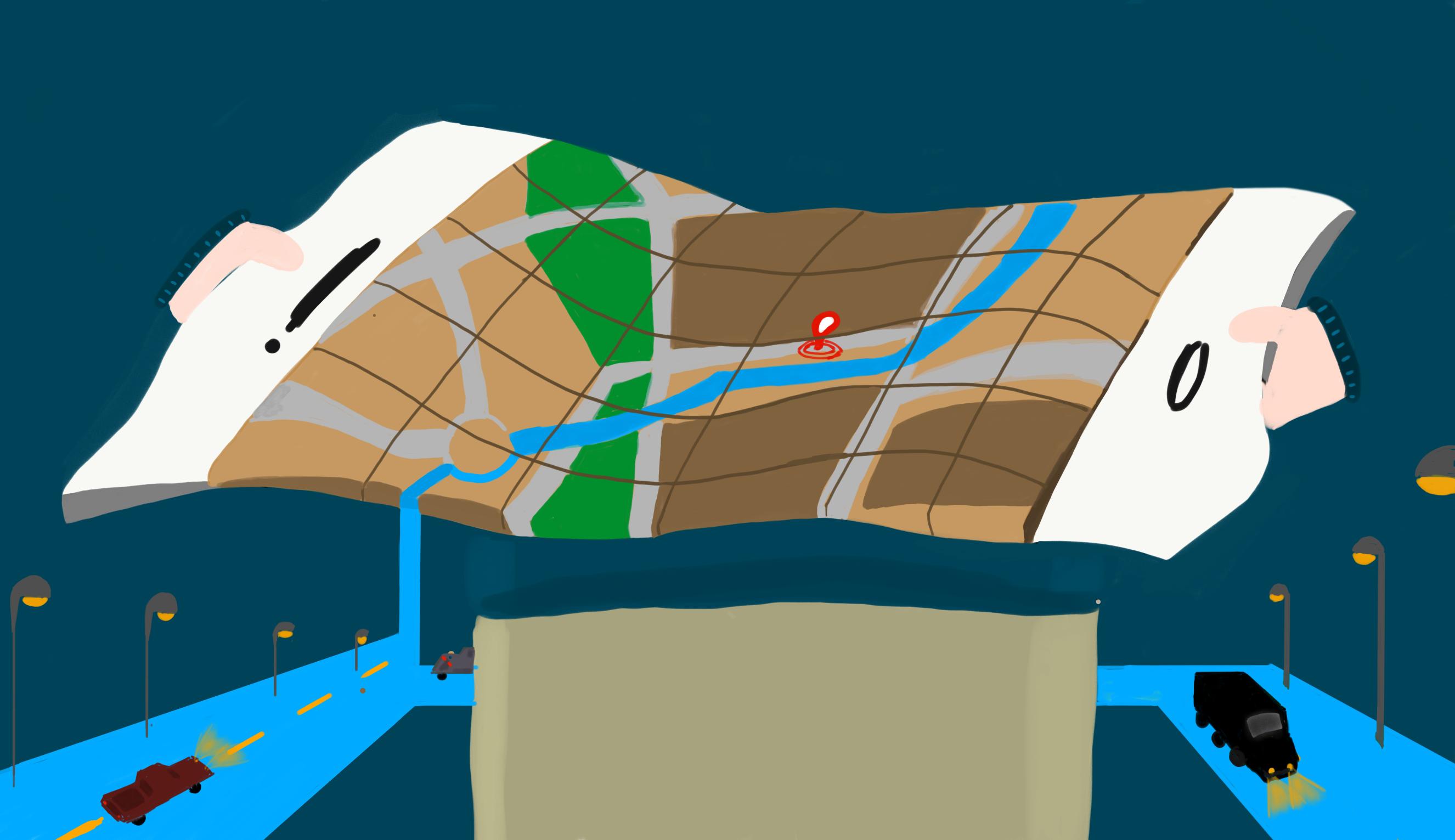 GPS, alla ricerca dei nonluoghi