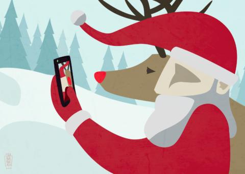 Selfie Christmas