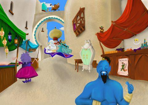 Aladdin: la favola che realizza l'enciclopedia della favola