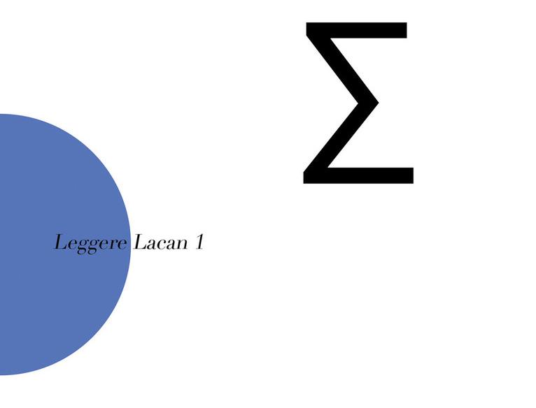 «Tracce del sintomo. I Seminari di Lacan», a cura di Chiara Massari